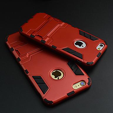 ultradunne appel harde geval beschermhoes met kickstand voor iPhone 6s 6 plus