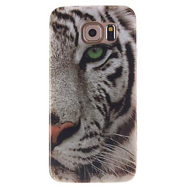 tok Για Samsung Galaxy Samsung Galaxy Θήκη IMD Πίσω Κάλυμμα Ζώο TPU για S6