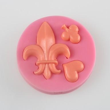 de harten van schoppen fondant cake chocolade siliconen schimmel, decoratie gereedschap bakvormen