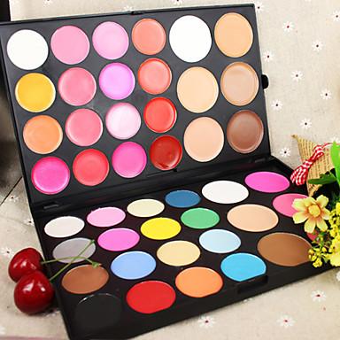 44 Blush Mate Brilho Estendido Gloss Colorido Cobertura Corretivo Natural Cara Olhos Lábios Cores Disponíveis