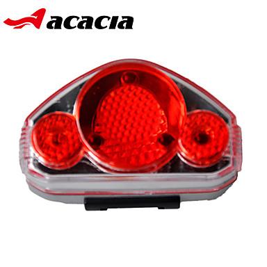 Fietsverlichting veiligheidslichten Achterlicht fiets - - Wielrennen Gemakkelijk draagbaar button batterij Lumens Batterij Fietsen -