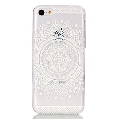 κοίλο σχήμα λουλουδιού υπέρλεπτων σκληρή πίσω κάλυψη περίπτωσης για το iphone 5γ