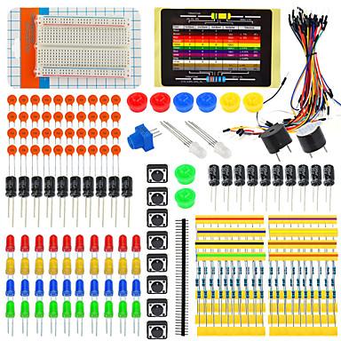 fãs pacote para a eletrônica arduino kits de componentes eletrônicos