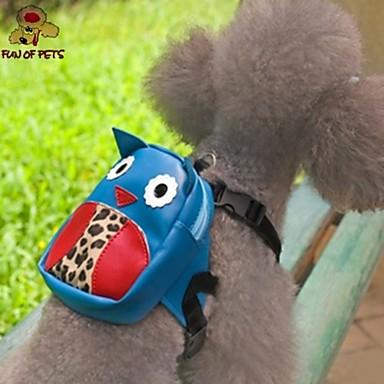 Cachorro mochila Roupas para Cães Fofo Desenhos Animados Azul Ocasiões Especiais Para animais de estimação