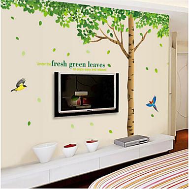 Διακοσμητικά αυτοκόλλητα τοίχου - Αεροπλάνα Αυτοκόλλητα Τοίχου Ζώα / Νεκρή Φύση / Μόδα Σαλόνι / Υπνοδωμάτιο / Μπάνιο / Αφαιρούμενο