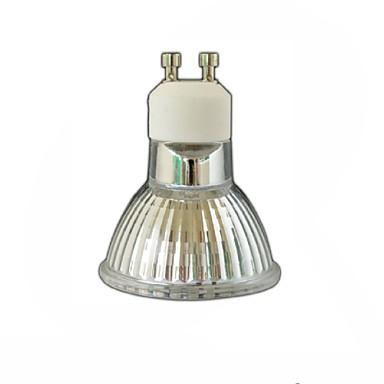 3.5W 300-350 lm GU10 Lâmpadas de Foco de LED LED quantity: 60pcs 3528SMD leds SMD 3528 Regulável Decorativa Branco Quente AC 110-130V AC