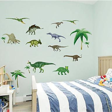 3d muurstickers muuroverdrukplaatjes stijl dinosaurus pvc muurstickers