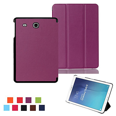 Case For Samsung Galaxy Tab A 9.7 Tab A 8.0 Samsung Galaxy Case with Stand Flip Origami Full Body Cases Solid Color PU Leather for Tab E