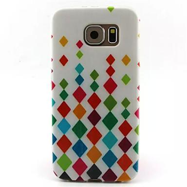 Για Samsung Galaxy Θήκη Με σχέδια tok Πίσω Κάλυμμα tok Γεωμετρικά σχήματα TPU Samsung S6 edge / S6