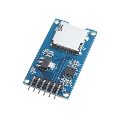 pour les micro-module de carte sd carte tf lecteur lecteur de cartes interfaces spi Arduino avec puce de convertisseur de niveau