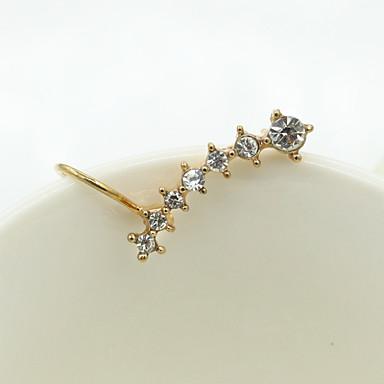 Oorknopjes Kristal Modieus Europees Strass Verguld 18K goud imitatie Diamond Oostenrijk Crystal Zilver Gouden Sieraden Voor 2 stuks