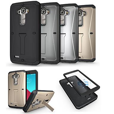 Para Capinha LG Antichoque / Com Suporte Capinha Corpo Inteiro Capinha Armadura Rígida Metal LG LG G4
