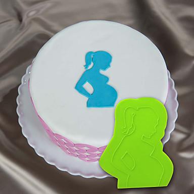 babybuil siliconen indruk mat siliconen taart stencil onlay fondant mal voor taart decoreren