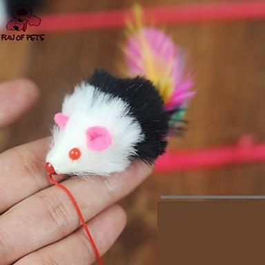 Kattenspeeltje Huisdierspeeltjes Speelhengels Veren speeltje Muis tekstiili Voor huisdieren
