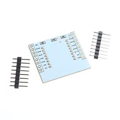 σειριακή wifi esp8266 κάρτα προσαρμογέων μονάδα ESP-07 ESP-12 ESP-12e
