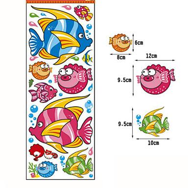 Stickers Toilet / Bad / Douche / Geneeskunde Kasten KunststofMultifunctioneel / Milieuvriendelijk / Voor tijdens de reis / Cartoon /