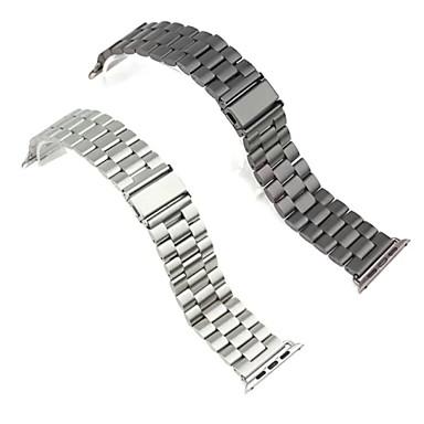Horlogeband voor Apple Watch Series 3 / 2 / 1 Apple Polsband Butterfly Buckle Metaal