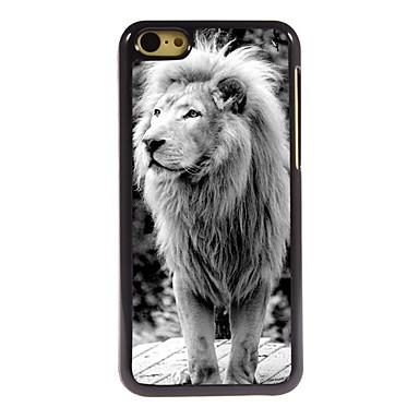 η περίπτωση του σχεδιασμού λιοντάρι αλουμινίου υψηλής ποιότητας για το iphone 5γ
