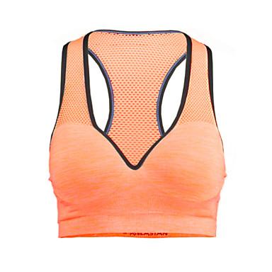 Dames Medium ondersteuning Sport bh's Sneldrogend Vochtdoorlaatbaarheid Ademend Compressie Sport bh's Kleding Bovenlichaam voor Yoga