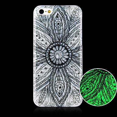 λουλούδια μοτίβο φωτεινών τηλέφωνο περίπτωση καλύψει πίσω περίπτωση για iphone5c