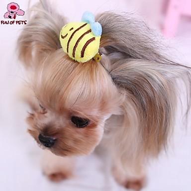 44363a3652a7 Γάτες   Σκυλιά Αξεσουάρ Μαλλιών   Φιόγκοι Κίτρινο Ρούχα για σκύλους Άνοιξη Χειμώνας  Γάμος