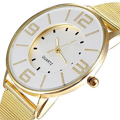 Mulheres Relógio de Moda Relógio Casual Quartzo Relógio Casual Lega Banda Elegant Dourada
