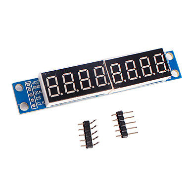 MAX7219 cwg módulo de controle de exibição tubo digital de 8 dígitos