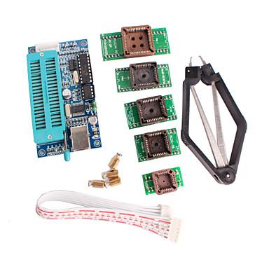 pic K150 programmeur usb automatische programmering met plcc ic testen zitplaats adapter kit voor het ontwikkelen van microcontroller