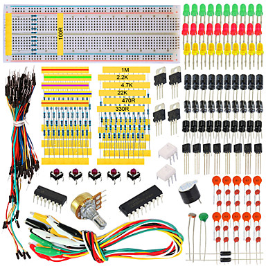 for Arduino Tutorial Workshop Component Package
