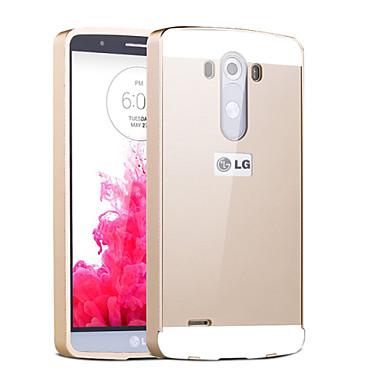 hoesje Voor LG G3 LG LG hoesje Beplating Achterkant Effen Kleur Hard Acryl voor