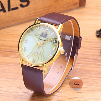 Gepersonaliseerde Gift - voor Dames - Analoog - Horloge - met Leer - Band