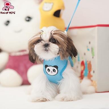 Γάτα Σκύλος Εξαρτύσεις Λουριά Προσαρμόσιμη / Τηλεσκοπικό Αναπνέει Στολές Ηρώων Υφασμα Κίτρινο Μπλε Ροζ
