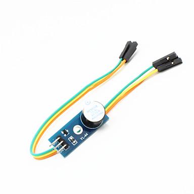 versão atualizada dispositivo de módulo de alarme motorista buzzer activa w / para placas oficiais arduino carro inteligente