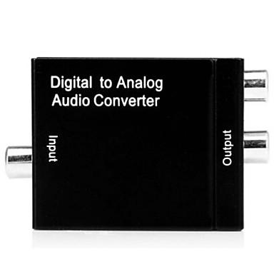 audio-decodering van digitale audio naar audio-video-audio voor thuis analoog / openbare televisie audio-decodering