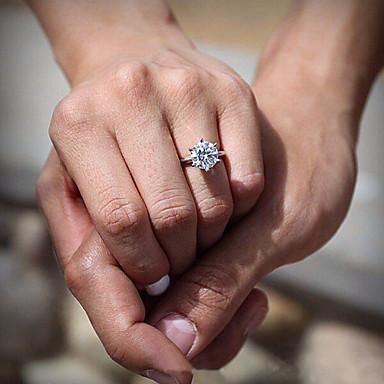 Dames Statement Ring Bandring Zilver Verzilverd Modieus Bruiloft Feest Dagelijks Kostuum juwelen