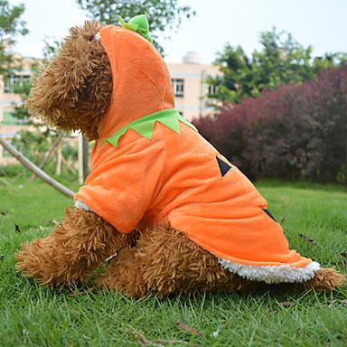 Σκύλος Στολές Παλτά Σύνολα Ρούχα για σκύλους Στολές Ηρώων Halloween Κινούμενα σχέδια Κίτρινο Στολές Για κατοικίδια
