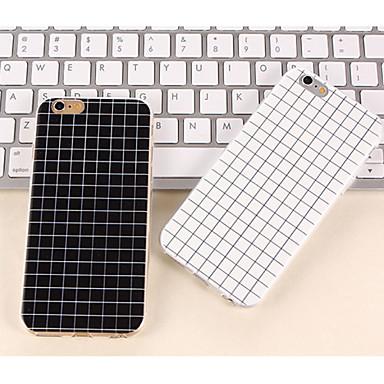 Capinha Para Apple iPhone 8 / iPhone 8 Plus / iPhone 7 Estampada Capa traseira Estampa Geométrica Macia TPU para iPhone 8 Plus / iPhone 8 / iPhone 7 Plus