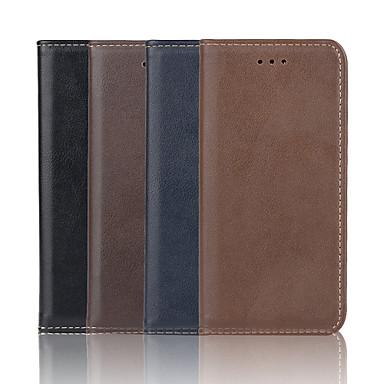 iphone 7 mais genuína padrão de couro caso da carteira de alta qualidade 5,5 polegadas para iphone 6s 6 mais