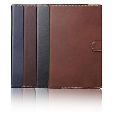 tok Για iPad Mini 4 Θήκη καρτών με βάση στήριξης Πλήρης Θήκη Συμπαγές Χρώμα γνήσιο δέρμα για iPad Mini 4