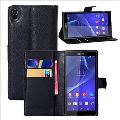 tok Για Sony Z5 Sony Xperia Z3 Sony Xperia Z3 Compact Sony Xperia M4 Aqua Άλλο Sony Xperia Z5 Xperia Z3 Θήκη Sony Θήκη καρτών Πορτοφόλι