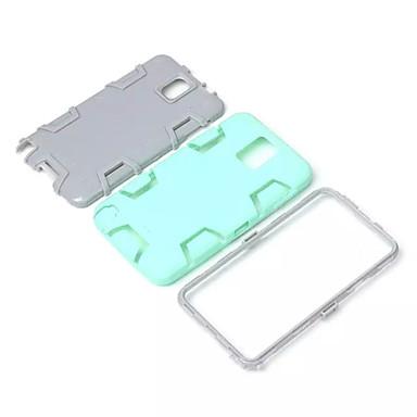 Para Samsung Galaxy Note Antichoque / Impermeável / Anti-poeira Capinha Capa Traseira Capinha Armadura PC Samsung Note 5 / Note 4 / Note 3