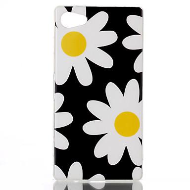 Για Θήκη Sony Θήκες Καλύμματα Με σχέδια Πίσω Κάλυμμα tok Λουλούδι Μαλακή TPU για Sony Sony Xperia Z5 Compact