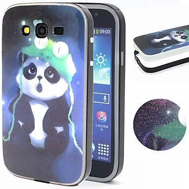 Para Samsung Galaxy Capinhas Estampada Capinha Capa Traseira Capinha Animal TPU Samsung Grand Neo / Grand
