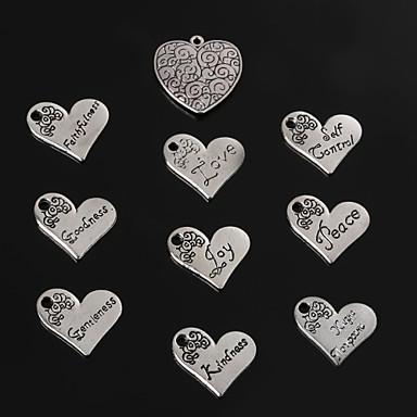 Διακοσμητικά / Κρεμαστά Μέταλλο Heart Shape As Picture 2-5pcs