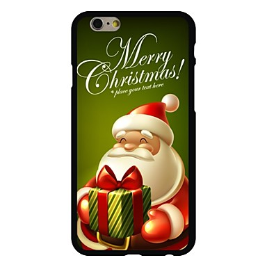 hoesje Voor iPhone 6 iPhone 6 Plus Patroon Achterkantje Kerstmis Hard PC voor iPhone 6s Plus iPhone 6 Plus iPhone 6s iPhone 6