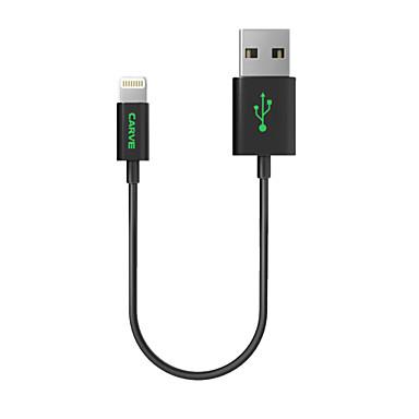 Verlichting USB kabeladapter Oplaadkabel Oplaadkoord Data & Synchronisatie Koord Normaal Kabels Kabel Voor iPad Apple iPhone 20 CM cm