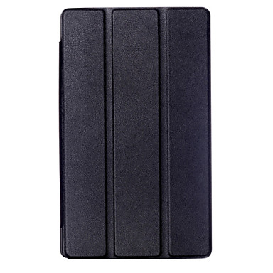 Case For Amazon Full Body Cases Tablet Cases Solid Color Hard PU Leather for