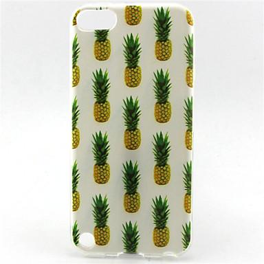 ananas schilderij patroon tpu zachte tas voor ipod touch 5 ipod cases / covers