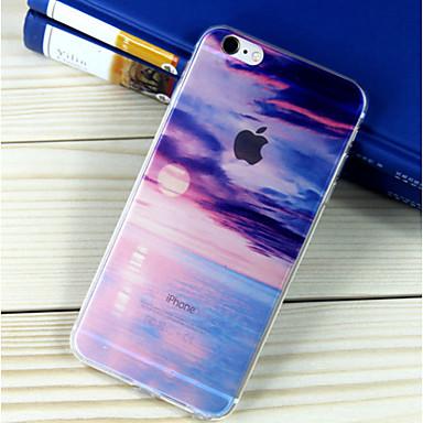 tok Για Apple iPhone 6 iPhone 6 Plus Ημιδιαφανές Με σχέδια Πίσω Κάλυμμα Τοπίο Μαλακή TPU για iPhone 6s Plus iPhone 6s iPhone 6 Plus