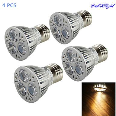 YouOKLight 3W 200-250 lm E26/E27 LED-spotlampen A50 3 leds Krachtige LED Decoratief Warm wit AC 85-265V